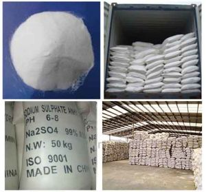 in Bulk Stock Top Quality Sodium Sulphate Anhydrous 99.5% CAS 7757-83-7 pictures & photos