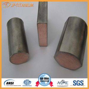 Professional Supply Titanium Clad Copper Bar for Electroplating Equipment pictures & photos