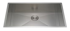 Stainless Steel Single Bowl Modern Kitchen Sinks pictures & photos