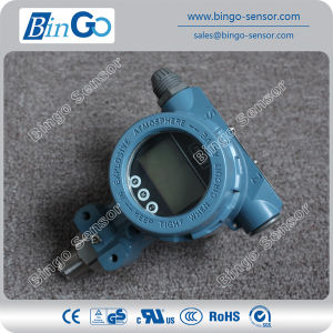 Hart Protocol Pressure Transducer Indicator with LCD Display for High Pressure pictures & photos