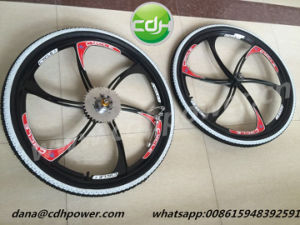 26′ Mag Wheels with Adapter and Sprocket; pictures & photos
