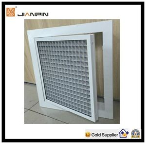 Aluminium Loose Core Eggcrate Grille with Filter pictures & photos