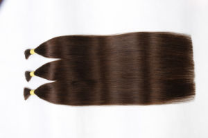 7A Silky Stragiht Human Hair Virgin Hair Weave Bundles Brown Color pictures & photos