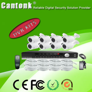 Digital Camera with Low Illumination Verifocal Lens 8CH DVR Kits pictures & photos