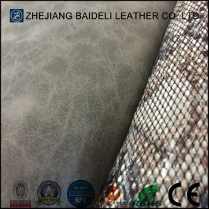 Special Printting PVC Bonded Leather for Shoes, Furniture, Bags, Gloves, Garment pictures & photos