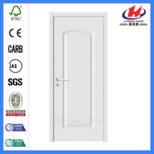 Molded Interior Flat Panel Interior Wood White Door (Jhk-S05) pictures & photos