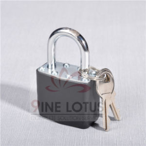 High Quality Steel Laminated Steel Padlock with Rubber Cover pictures & photos