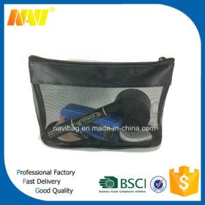 Navi Cosmetic Makeup Toiletry Mesh Bag with Zipper