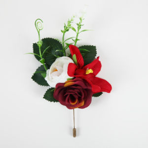 Fashion Flower Brooch for Wedding pictures & photos