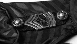 Q-305 Military Uniform Fancy Bra and Belt Set Women Striped Sexy Club Dress pictures & photos