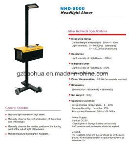 Semi-Automatic Headlight Teste/Headlamp Tester/Automobile Headlight Detector pictures & photos