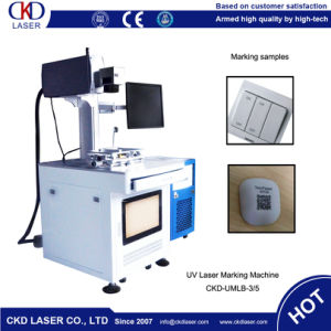 High Performance Laser Marking Machine for Buttons pictures & photos