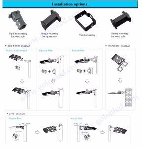 Parking Lot Area Sidewalk Garden Park Lighting 120lm/W 150W 200W Daylight Photocell Sensor LED Shoebox Retrofit Kit pictures & photos