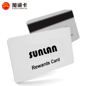 Magnetic RFID Blank Plastic PVC Card pictures & photos
