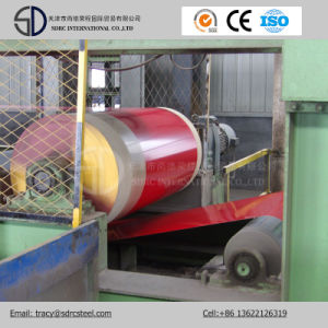 Dx53D Material Wood Pattern Prepainted Steel Coil Grain PPGI Coil pictures & photos