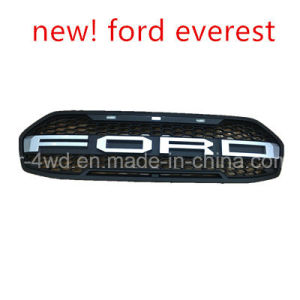 4X4 Front Grille with Light for Ford Everest Car Grille Accessories pictures & photos