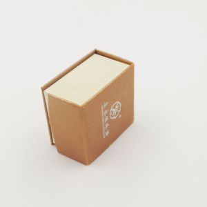 Customized Elaborate Kraft Paper Packaging Ring Box (J08-A1) pictures & photos