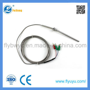 Fixed Bolt 3 Wire Rtd Temperature Sensor PT100 pictures & photos