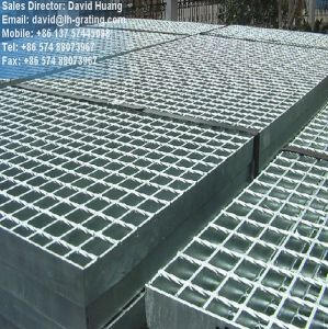 Hot Dipped Galvanize Grating for Steel Floor pictures & photos
