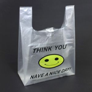 Environmental Oxo Degradable Plastic Bag T-Shirt 100% Biodegradable Bags pictures & photos