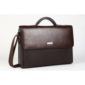 Hot Selling Brown Leather Business Bag Briefcase pictures & photos