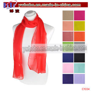 Yiwu China Cotton Bandana Polyester Scarf Acrylic Scarf (C1034) pictures & photos