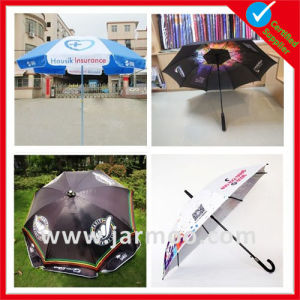 Custom Advertising Portable Beach Umbrella/ Golf Umbrella pictures & photos