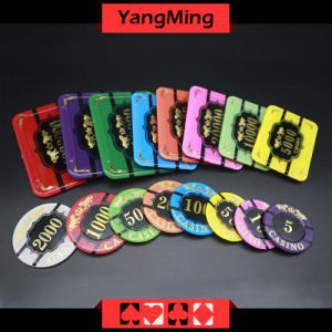Poker Bronzing Poker Chips (YM-CP020-21) pictures & photos
