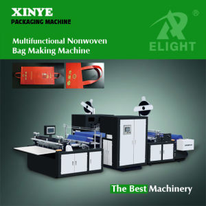 Newest Non Woven Cut and Handle Fix Machine pictures & photos