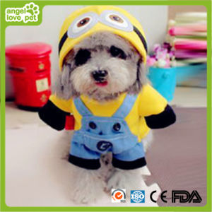 Minions Pet Clothes Hooded Garment Pet Product pictures & photos