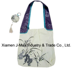 Foldable Gifts Shopper Bag, Flowers Orchid Style, Tote Bags, Reusable, Lightweight, Grocery Bags and Handy, Promotion, Accessories & Decoration pictures & photos