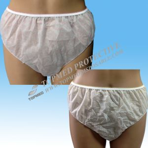 Nonwoven Disposable Panties for Household and Travel, Disposable Underwear with Printing pictures & photos