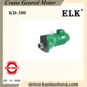 Elk Double Speeds Crane Geared Motor -- 1.5/0.5kw pictures & photos
