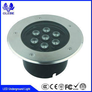 12W LED Buried Lights 3000k Waterproof Floor LED Light pictures & photos
