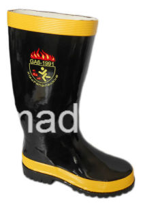 Professional Flame Retardant Firemen′s Boots pictures & photos