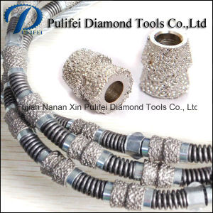 Spring Rubber Cutting Diamond Wire for Marble Granite Cutting Wire Saw Machine pictures & photos