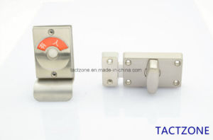 Unique Design Toilet Cubicle Partition Accessories Zinc Alloy Door Lock pictures & photos