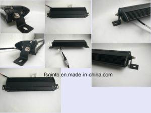 3D Hybrid Optics 10-30V LED Light Bar Single Row pictures & photos
