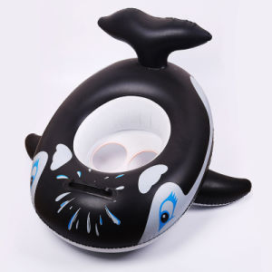 PVC or TPU Inflatable Whale Baby Floating Seat pictures & photos
