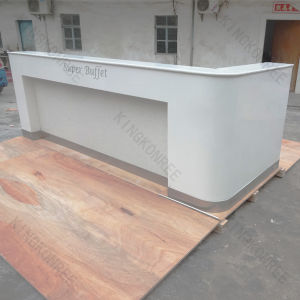 Modern Office Furniture Art Design Commercial Reception Desk From China pictures & photos