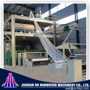 China High Speed 3.2m Single S PP Spunbond Nonwoven Fabric Machine pictures & photos