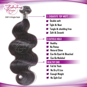 100% Mink Hair Weaving Virgin Remy Brazilian Human Hair pictures & photos