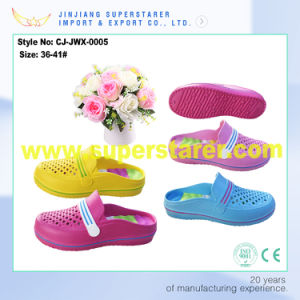 Summer Cheap Clog Sandals for Women pictures & photos