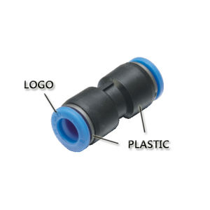 Pneumatic Fitting with Blue Button/ (SC/NSE 8-02) pictures & photos