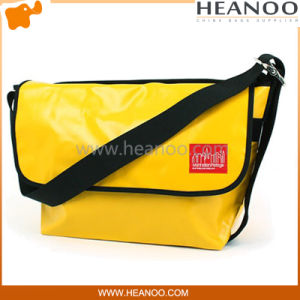 Stylish Red Black Yellow Bike PVC Messenger Sports Bags pictures & photos