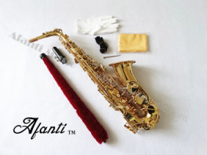 Afanti Music /Eb Brass Body Alto Saxophone (AAS-002) pictures & photos