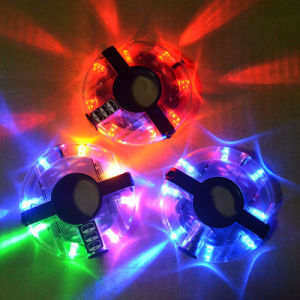 Circular Colorful Flash Bicycle LED UFO Bike Light Bike Hub Light pictures & photos