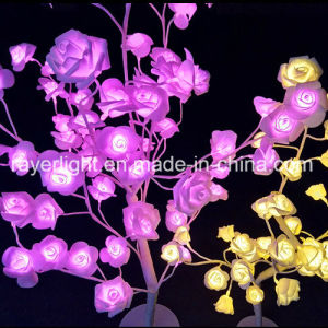 Bulk Selling Home Artificial Flower LED Rose Wedding Decoration pictures & photos