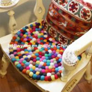 Car Handmade Round Wool Felt Washable Ball Mats for Decorations pictures & photos