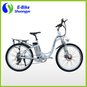 CE Approval 2 Wheel Electric Bicycle with Brushless Motor pictures & photos